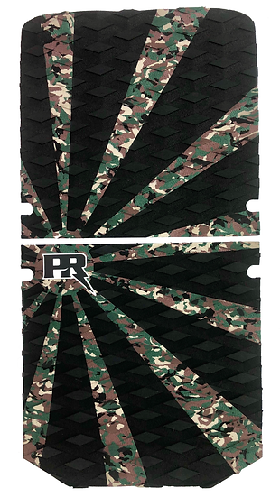 Onewheel XR Traction Pad Set Rising Sun - Camo/Black (Stock Foot Pad Compatible)
