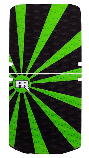 Onewheel XR Traction Pad Set Rising Sun - Green/Black (OneTail+ Compatible)