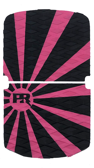 Onewheel Pint Traction Pad Set - Rising Sun Pink/Black (Stock Compatible)