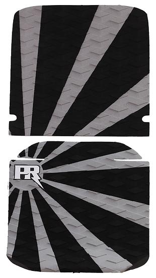 Onewheel XR Traction Pad Set Rising Sun - Grey (Cobra / Viper Tail Compatible)