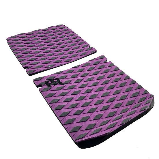 Onewheel XR Concave Traction Pad Set - Diamond Plate Purple