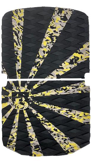 Onewheel Pint Traction Pad Set - Rising Sun Yellow Camo (Stock Compatible)
