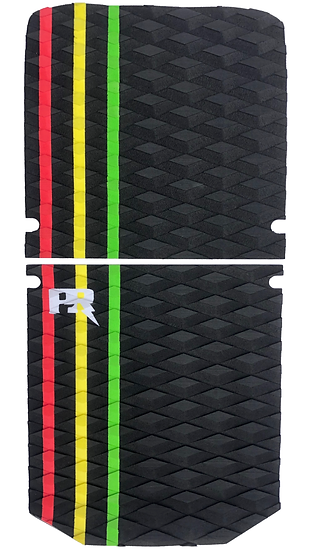 Onewheel XR Traction Pad Set Rasta - (OneTail+ Compatible)