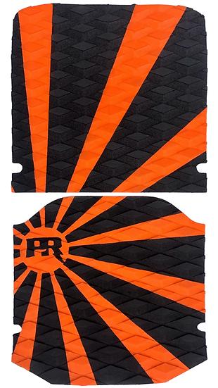 Onewheel XR Traction Pad Set - Rising Sun Orange/Black (Kush Hi Tail Compatible)