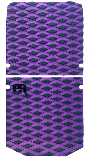 Onewheel XR Traction Pad Set - Diamond Plate Purple (Stock Foot Pad Compatible)