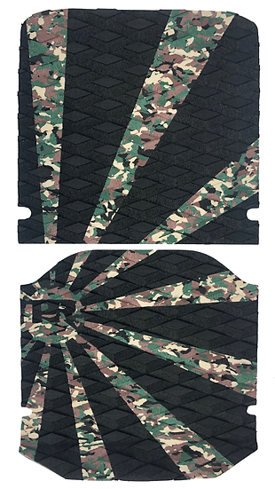 Onewheel XR Traction Pad Set - Rising Sun Camo/Black (Kush Hi Tail Compatible)