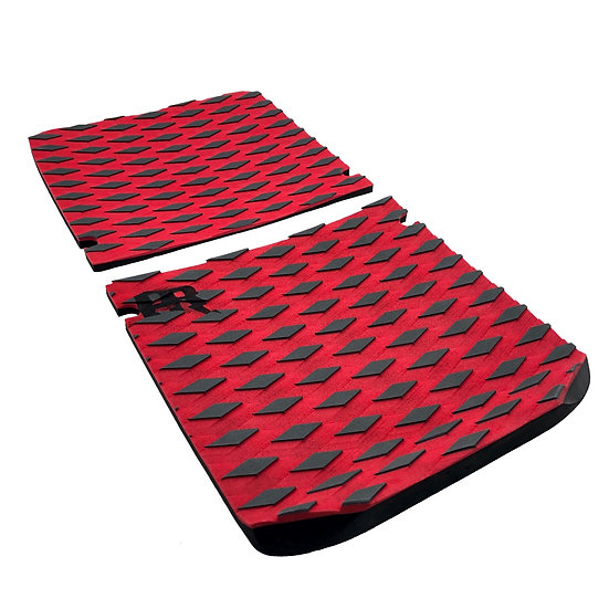 Onewheel XR Concave Traction Pad Set - Diamond Plate Red