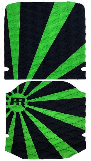 Onewheel XR Traction Pad Set - Rising Sun Green/Black (Kush Hi Tail Compatible)