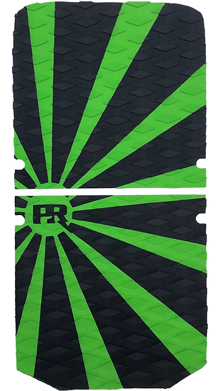 Onewheel XR Traction Pad Set Rising Sun - Green (Stock Foot Pad Compatible)