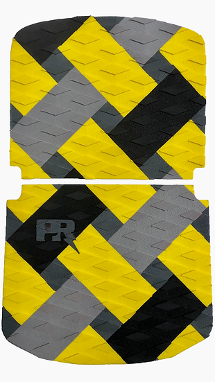 Onewheel Pint Traction Pad Set - Weave Yellow (Kush Nug Hi Compatible)