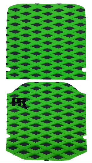 Onewheel XR Traction Pad Set - Diamond Plate Green (Kush Hi Tail Compatible)