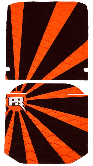 Onewheel XR Traction Pad Set Rising Sun - Orange (Cobra / ViperTail Compatible)
