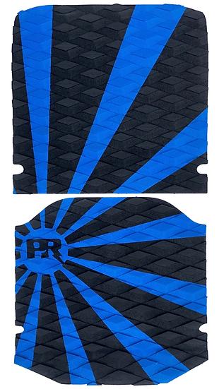 Onewheel XR Traction Pad Set - Rising Sun Blue/Black (Kush Hi Tail Compatible)