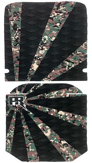 Onewheel XR Traction Pad Set Rising Sun - Camo (Cobra Viper Tail Compatible)