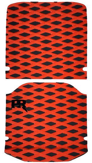 Onewheel XR Traction Pad Set - Diamond Plate Orange (Kush Hi Tail Compatible)