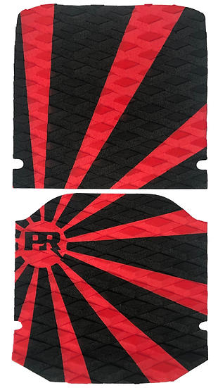Onewheel XR Traction Pad Set - Rising Sun Red/Black (Kush Hi Tail Compatible)