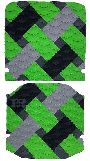 Onewheel XR Traction Pad Set Weave - Green (Kush Hi Tail Compatible)