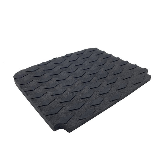 Pint Concave Traction Pad Front - Black
