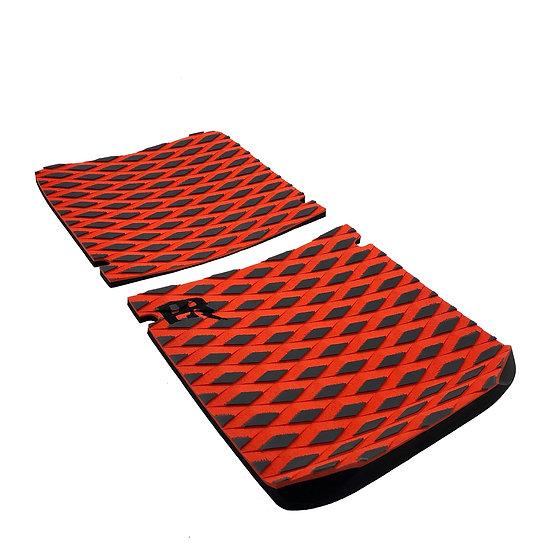 Onewheel XR Concave Traction Pad Set - Diamond Plate Orange