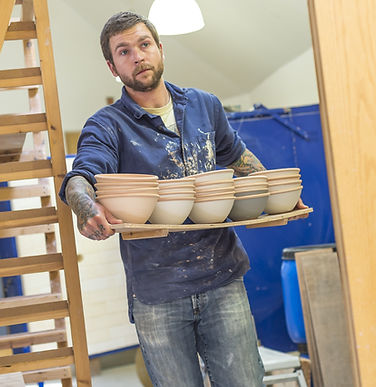 Ian Morrison at Leach Pottery