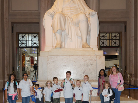 Elementary's Field Trip to the Franklin Institute