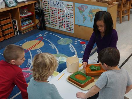 Preschool visiting Kindergarten