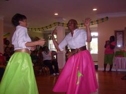 Mom poodle dance