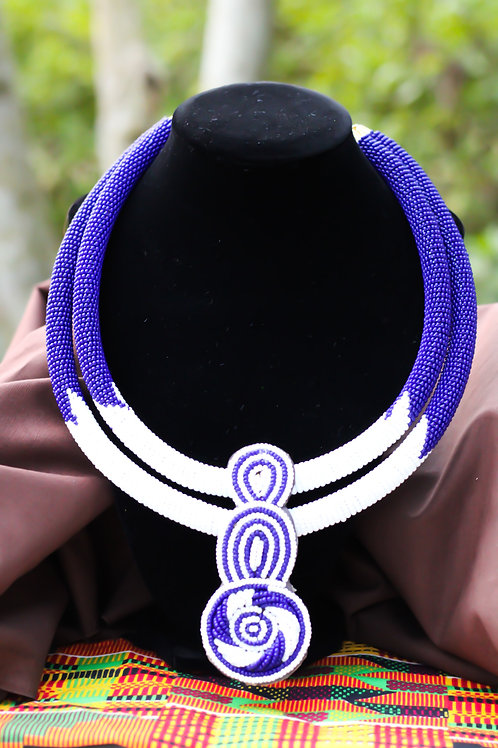 Daanya African Beaded Statement Necklace