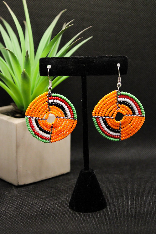 Tango Beaded Earrings