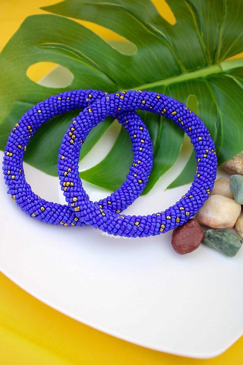 Ocean Beaded Bracelet
