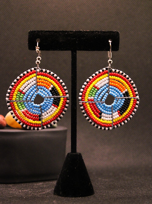 Nandi Beading Earrings