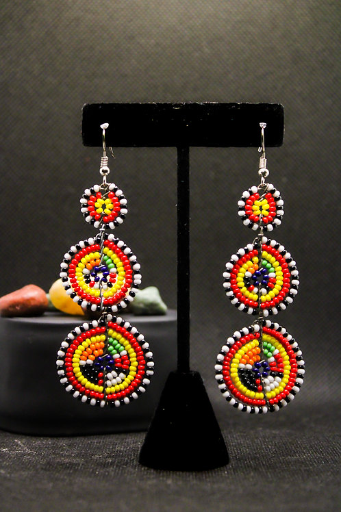 Sheba Beaded Earring