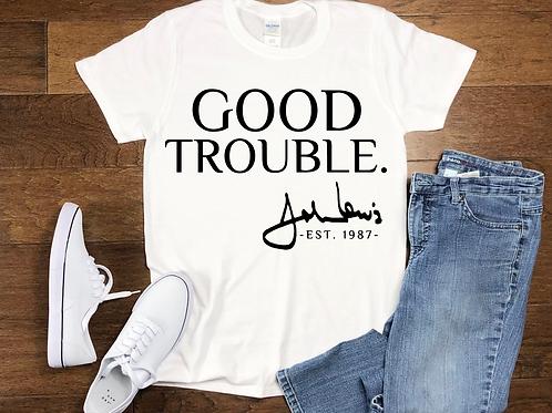 Good Trouble Signature Tee