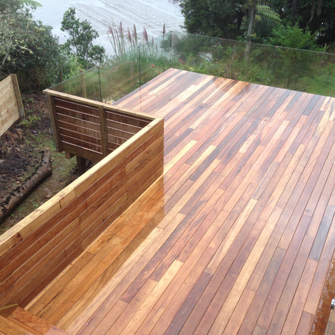 Deck building projects