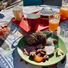 Pensao das Dunas Breakfast