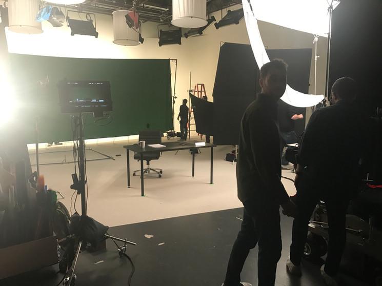AVP in Studio for Scott Trade.