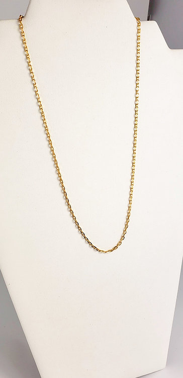 14 Karat Yellow Gold Link Chain