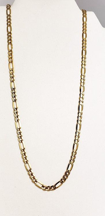 10Karat Yellow gold Figaro Chain