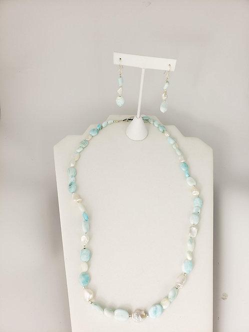 Freshwater Pearl and Aragonite Set