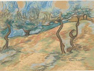 A Van Gogh interpretation in pastel.....