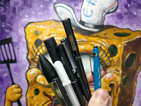 MY TOP TOOLS FOR TRADITIONAL DRAWING AND ILLUSTRATION..o_O