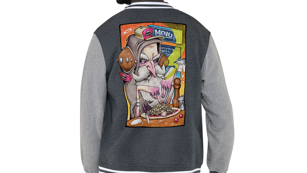 DRUIDS DELIGHT Letterman Jacket