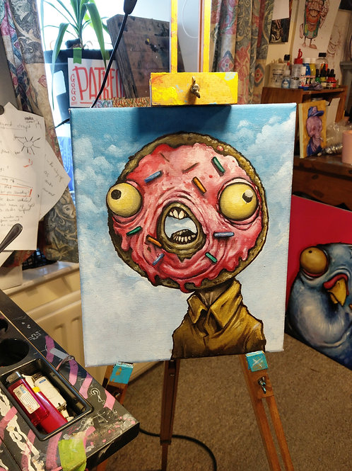 Sprinkles / oil on canvas