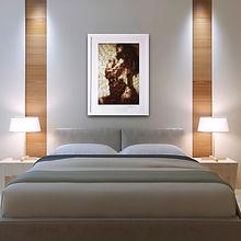 bedroom et image 'Addiction seeping thro