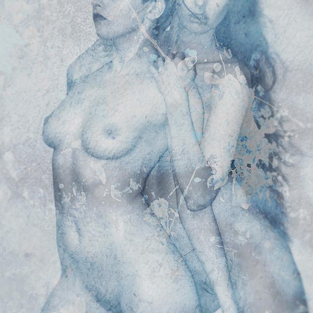 Dos ángeles azules