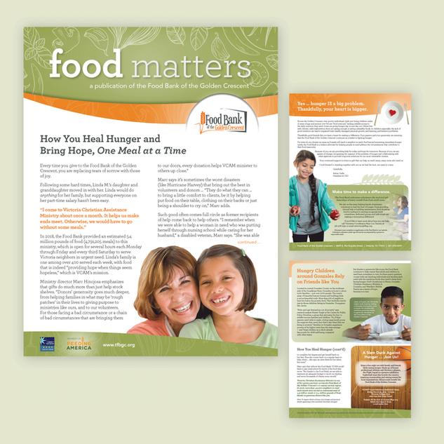 graphic-design-publication-newsletter-food-bank