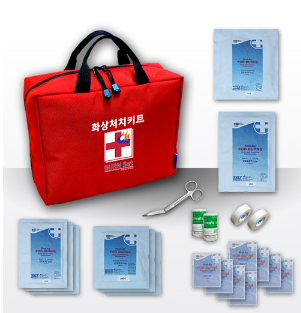 BURN TREATMENT KIT BAG