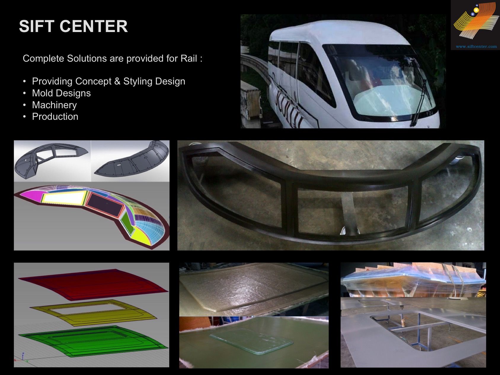 Sift Center : Rail Division