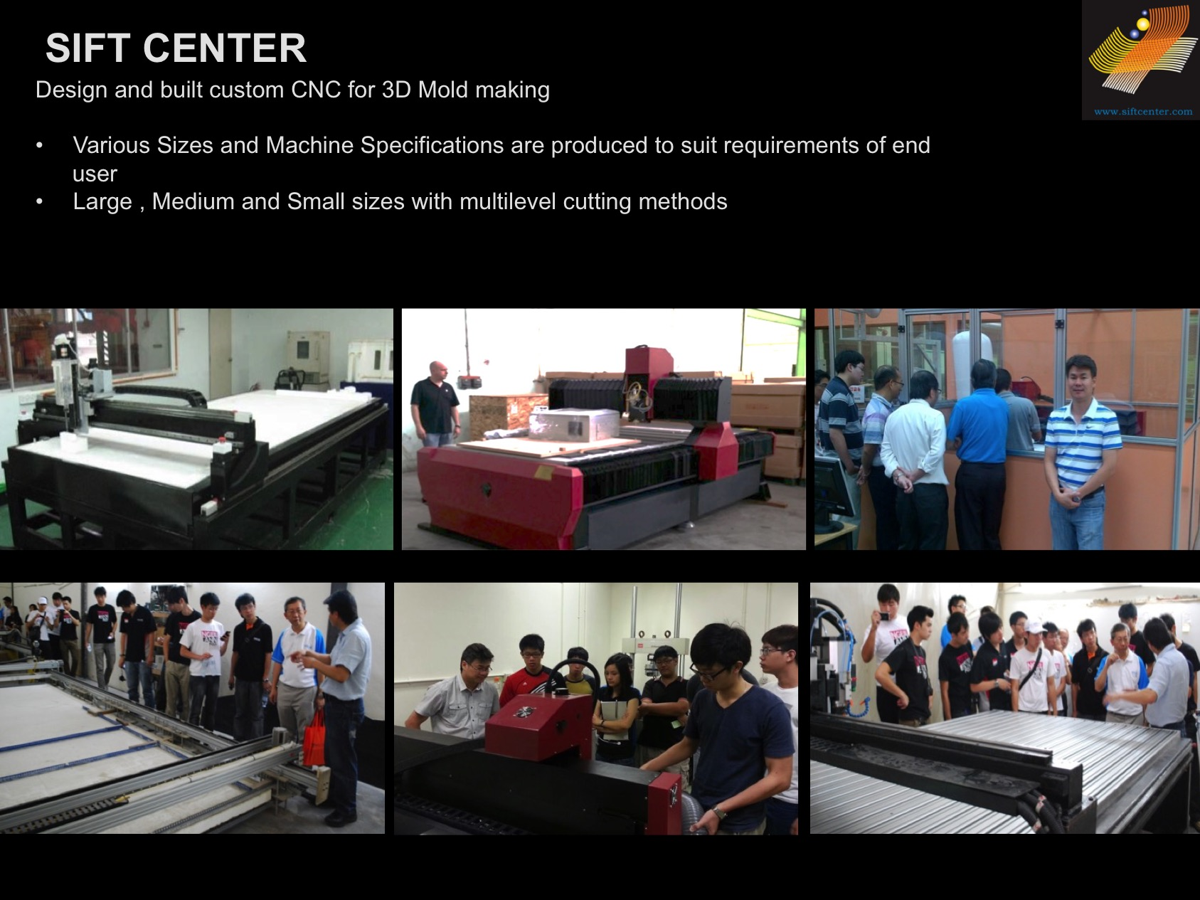 Sift Center : CNC Machine Division