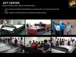 Sift Center : CNC Machine Division